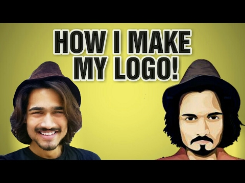 Give Your Image Cartoon Effect | How To make Cartoon Logo PicsArt | [Techpanti]✔
