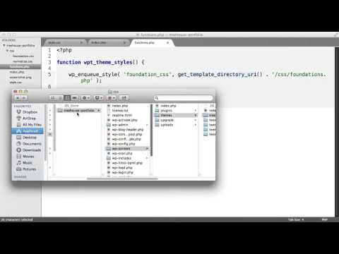 Working with CSS and JS in WordPress -  Adding CSS to a Theme Via the functions php File