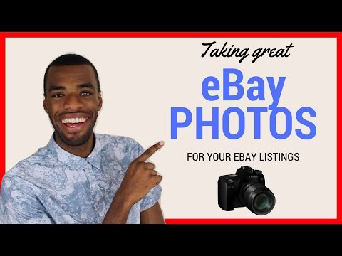 Taking good photos for eBay | A guide to taking Great eBay photos