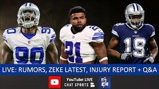 Jaylon Smith Extension, Dallas Cowboys News, Ezekiel Elliott Latest, DeMarcus Lawrence Return