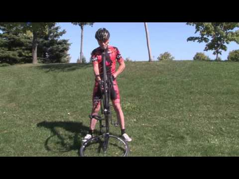 Quick and Easy Mobile Bike Repair Stand