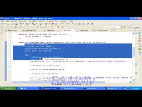 Login module (Phase 3) Database implementation