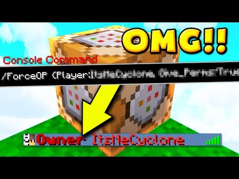 How To GET OP On ANY Minecraft server?!!