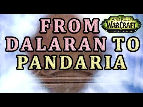 How to get from Dalaran to Pandaria WoW