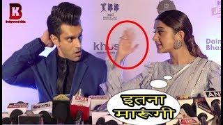 Jennifer Winget Angry On EX Husband Karan Singh Grover At Dadasaheb Phalke Awards 2018