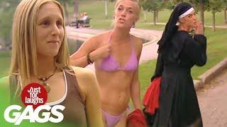 Sexy Bikini Nun - Just For Laughs Gags