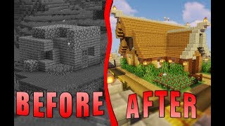 Surprising A Noob With A Brand New Rustic Base | Flippers E5 | Minecraft