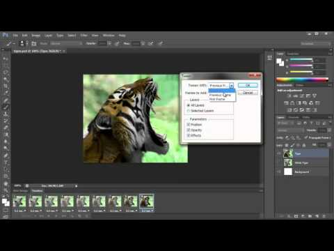 Create an Animated Gif in Photoshop CS6