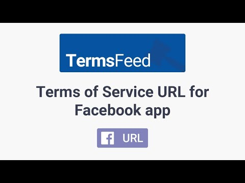 Terms of Service URL for Facebook app