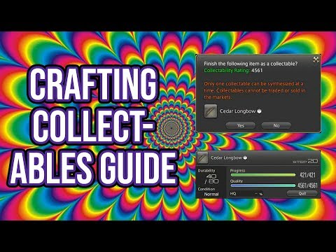 FFXIV Heavensward 3.0 0648 Crafting Collectables Guide