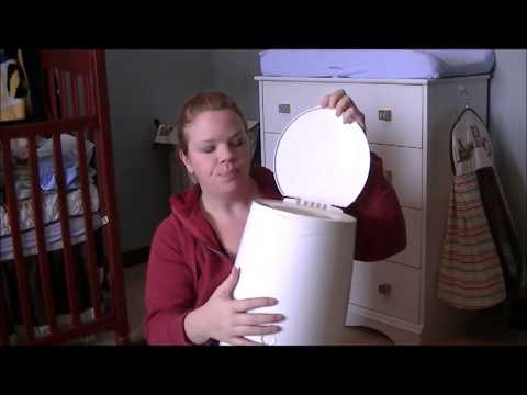 How to use garbage bags for your diaper genie.mp4