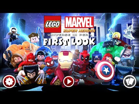 Lego Marvel Super Heroes: Universe in Peril iOS First Look Gameplay