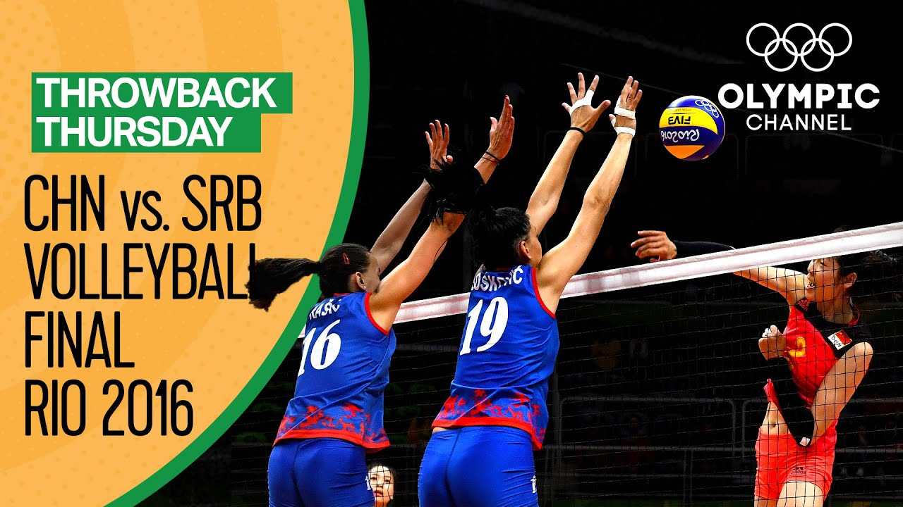 Women's Volleyball Final: China vs. Serbia - Rio 2016 Replay   Throwback Thursday