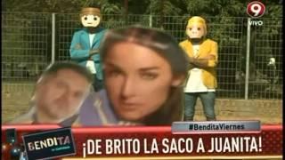 ¡De Brito la sacó a Juanita!