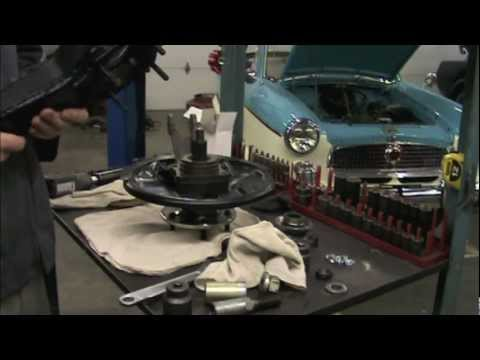 How to rebuild a Corvette rear wheel bearing part 2