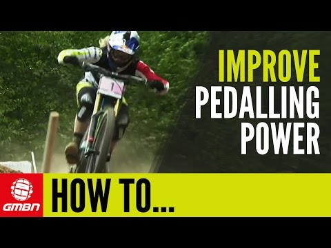 How To Increase Your Pedal Power For Mountain Biking | Off The Bike Workouts