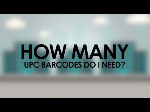 How Many UPC Barcodes Do I Need?