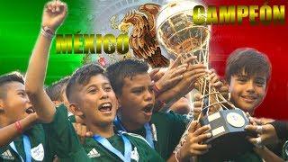 ARGENTINA VS MEXICO: MÉXICO CAMPEÓN DEL MUNDO
