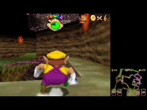 Super Mario 64 DS - Metal-Head Wario Can Move in 0.5 B Presses