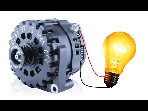 Self Excite an Alternator with a DC Generator DIY - Motor Generator