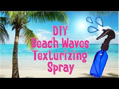DIY Beach Waves Texturizing Spray