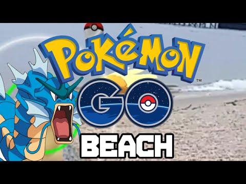 Pokemon GO At The Beach!