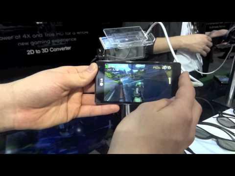 MWC12 LG Optimus 4XHD Product Demo