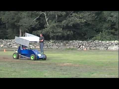 Sprintcar driving practice