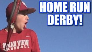DESTROYING CARS IN A HOME RUN DERBY! | Offseason Softball League