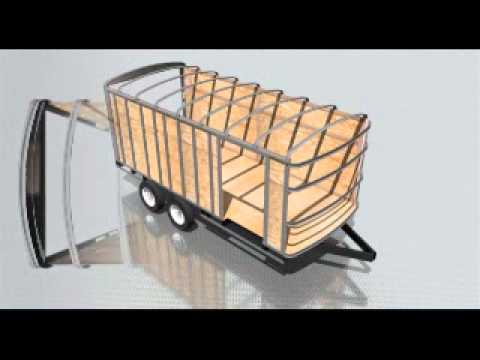 Enclosed Cargo Trailer Frame Building