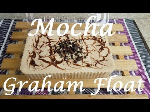 Mocha Graham Float | Graham Float | Easy dessert recipe| no bake dessert