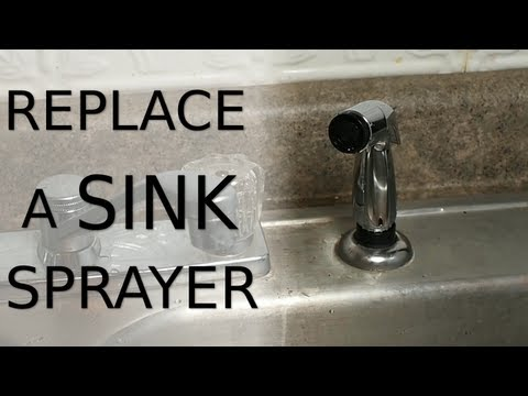 Replace a Sink Sprayer