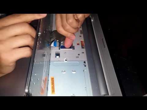 Lenovo Z500 klavye çıkartma / Lenovo Z510 (Z500) keyboard replacement