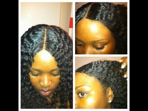 California Lace wigs-Kinky wave (bonded)