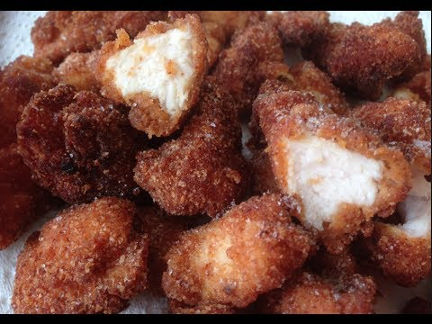 HOT AND SPICY CHICKEN NUGGETS RECIPE HOW TO - Greg's Kitchen