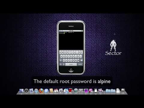 How to change the root password of your iPhone