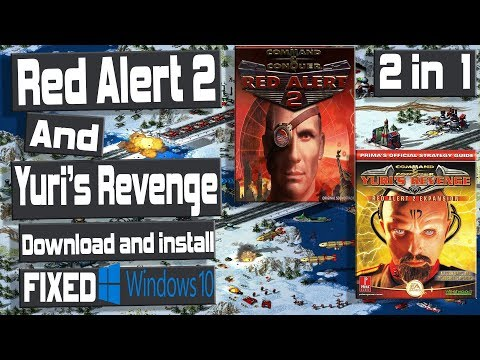 windows 10 ( FIXED) Command and Conquer  Red Alert 2 and Yuri's revenge  2017