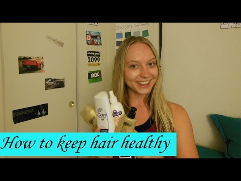 How to keep hair healthy after swimming