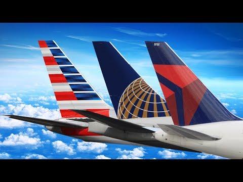 UNITED vs AMERICAN vs DELTA ECONOMY CLASS | Economy Week Trailer