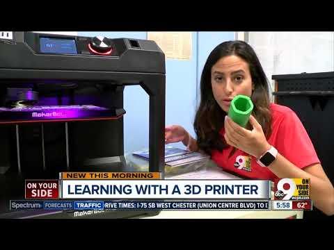 3-D printer unlocks student creativity at Indian Hill Middle School