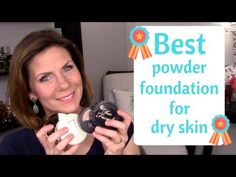 Best powder foundation for dry mature skin?!?