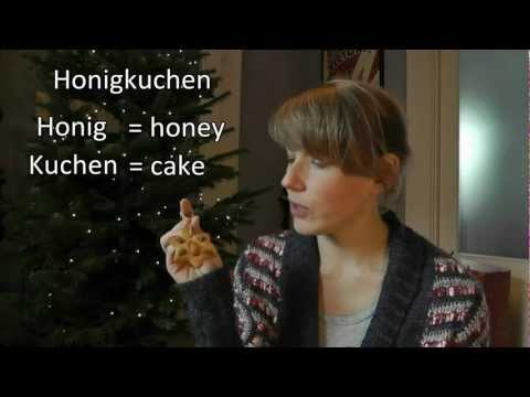 Where do German words end?