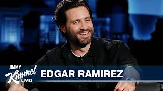 Edgar Ramírez on Quarantine in the Rockies \u0026 Netflix Movie with Jennifer Garner