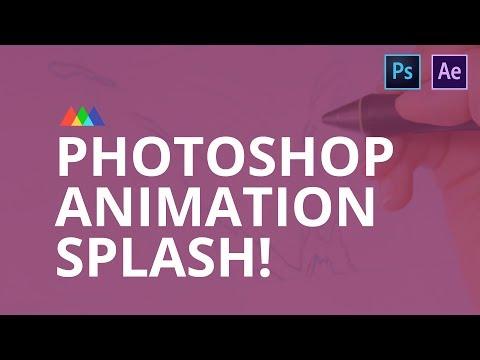 Photoshop Animation Water Splash