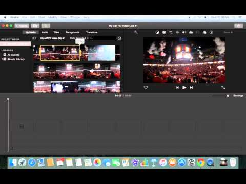 Splitting Clips in iMovie 10.1