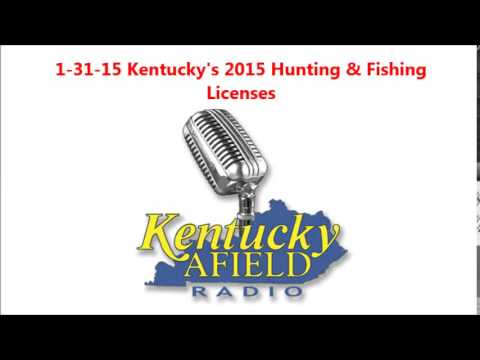 1 31 15 2015 KY Hunting and Fishing Licenses