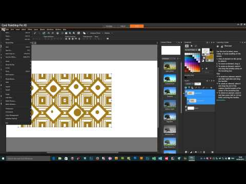 How to convert text into preset shapes in PaintShop Pro X8 (Intermediate) tutorial