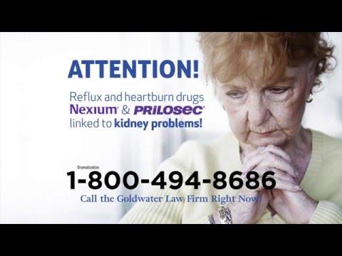 Have You Taken Nexium or Prilosec and Developed Kidney Disease?