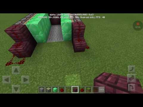 Make a grinder for Minecraft Pocket Edition
