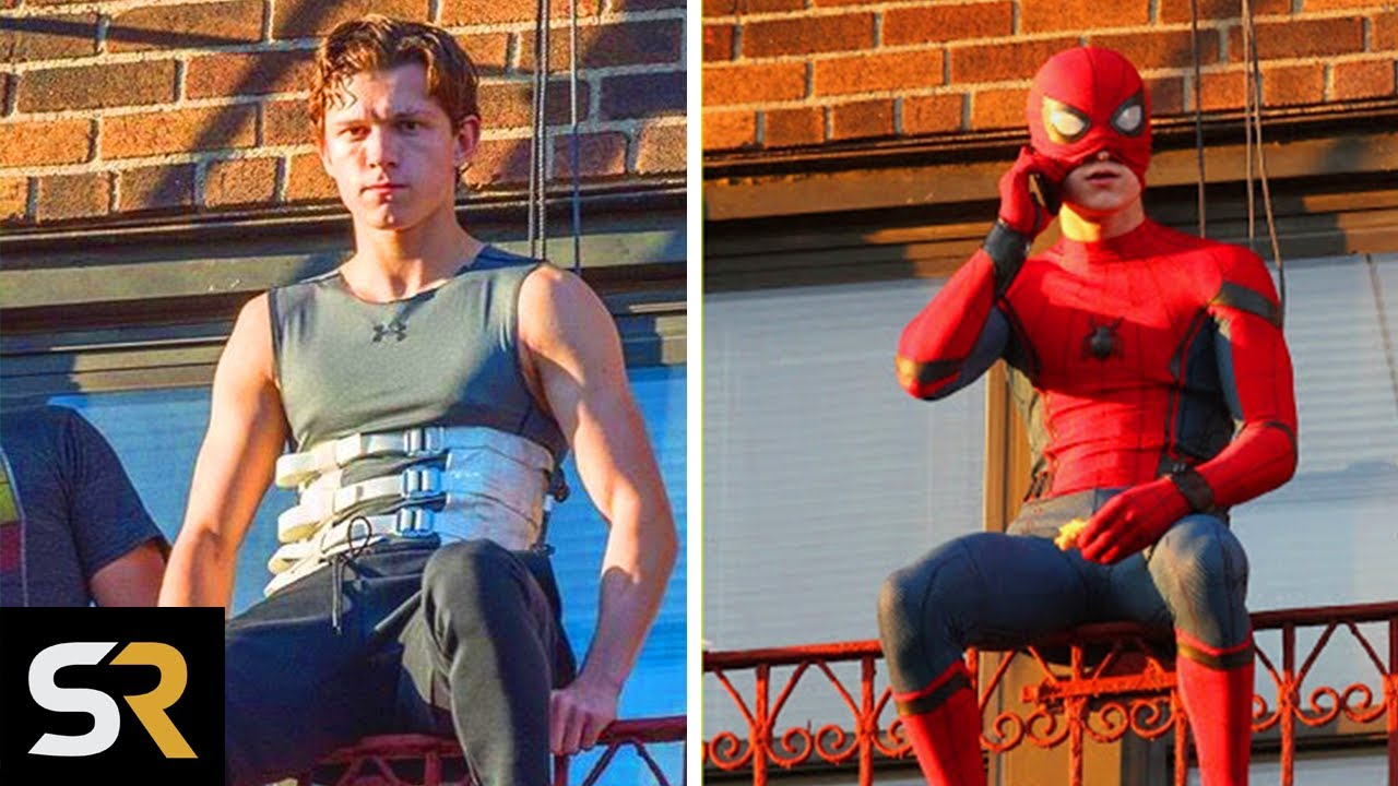 Spider-Man No Way Home: How Tom Holland Trains For His Own Stunts